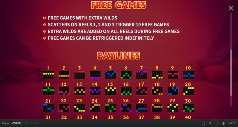 Kitty Wild :: Free Spins Rules