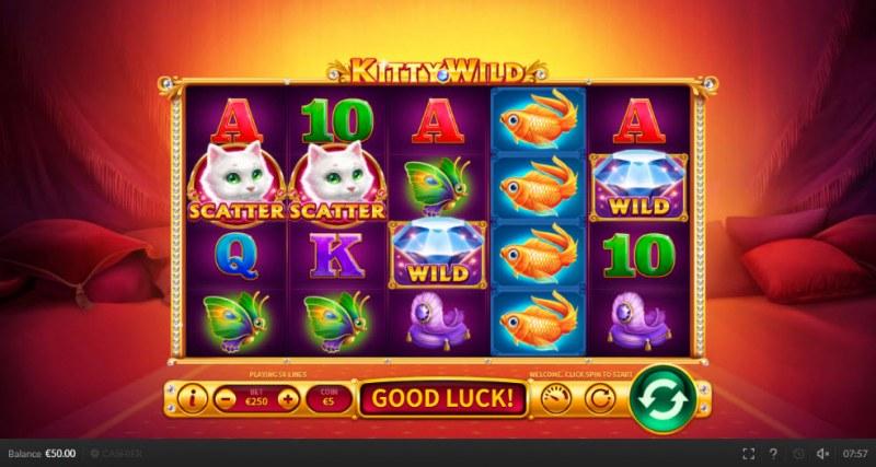 Kitty Wild :: Main Game Board