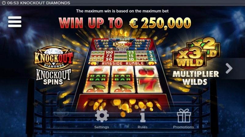 Knockout Diamonds :: Win Up To $250,000