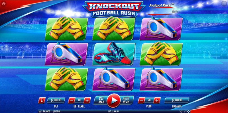 Knockout Football Rush :: Main Game Board
