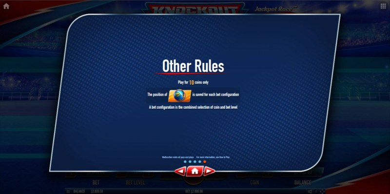 Knockout Football Rush :: General Game Rules