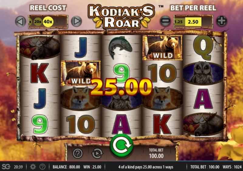 Kodiak's Roar :: Four of a kind