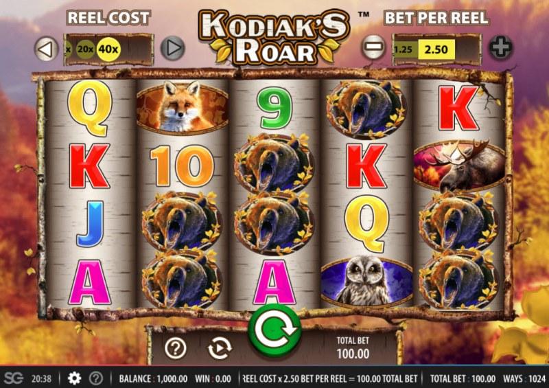 Kodiak's Roar :: Main Game Board