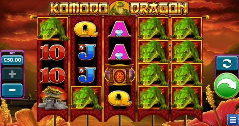 Komodo Dragon :: Main Game Board