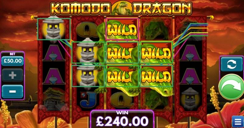 Komodo Dragon :: Multiple winning paylines