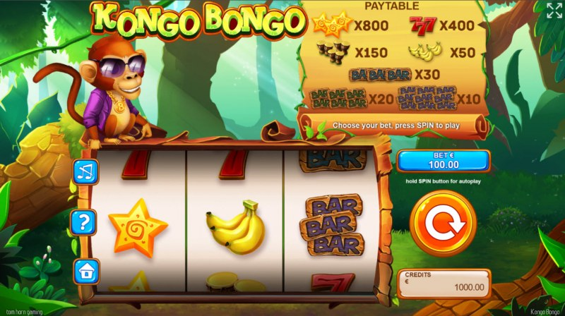 Kongo Bongo :: Main Game Board