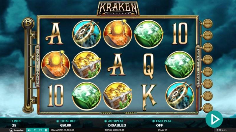 Kraken Conquest :: Main Game Board