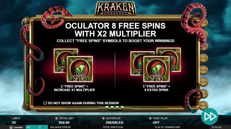Kraken Conquest :: Pick your free games feature