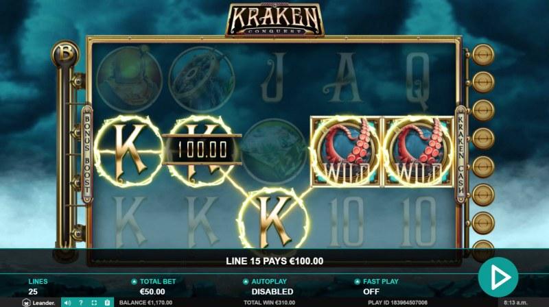 Kraken Conquest :: Five of a kind