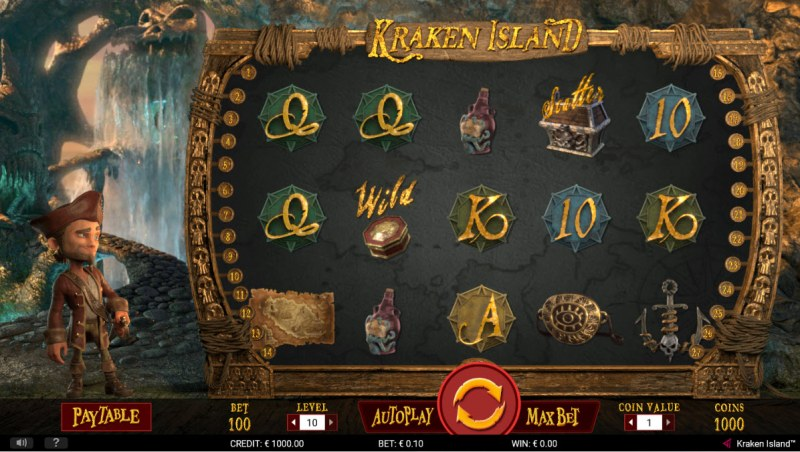 Kraken Island :: Main Game Board