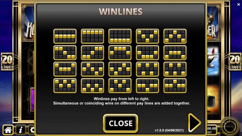Krazy Klimber :: Paylines 1-20