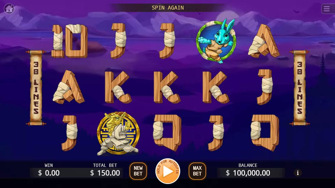 Kung-Fu Kash :: Main Game Board