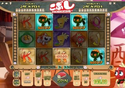 Astralbet featuring the Video Slots Kobushi with a maximum payout of Jackpot