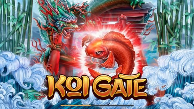 Crypto Wild featuring the Video Slots Koi Gate with a maximum payout of $2,500,000
