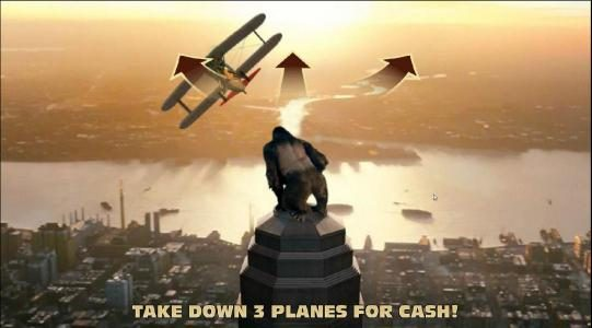 KONG The 8th wonder of the world :: take down 3 planes for cash