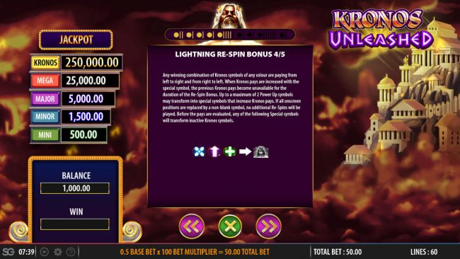 Kronos Unleashed :: Respin Feature