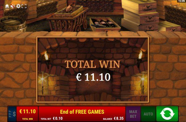 La Dolce Vita :: Total Win 110 credits
