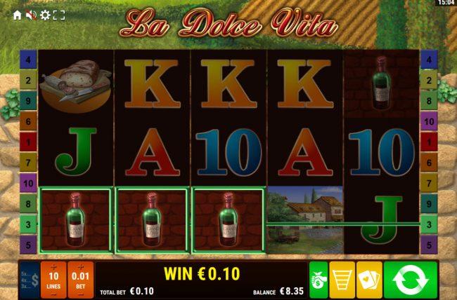 La Dolce Vita :: A winning three of a kind