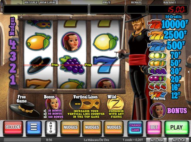 La Mina de Oro :: Main Game Board