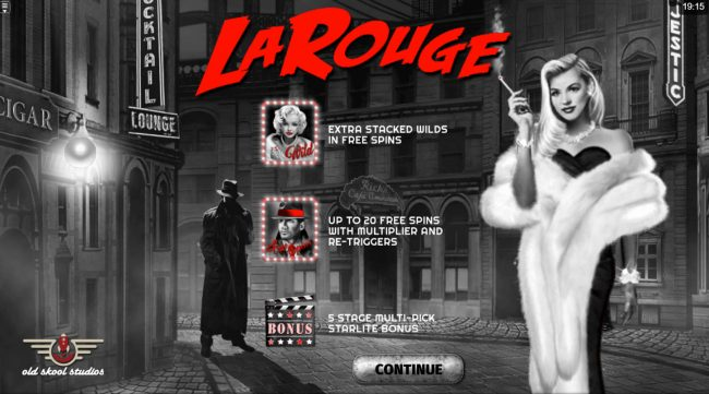 Play slots at iLucki: iLucki featuring the Video Slots La Rouge with a maximum payout of $10,000