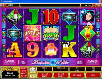 Crazy vegas featuring the Video Slots Ladies Nite with a maximum payout of $200,000