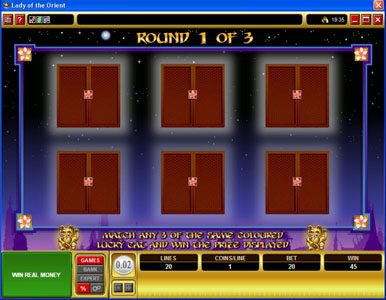 Play slots at Cabaret Club: Cabaret Club featuring the Video Slots Lady of the Orient with a maximum payout of $50,000