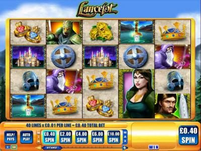 Play slots at Casino Red Kings: Casino Red Kings featuring the Video Slots Lancelot with a maximum payout of $250,000