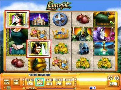 BGO Vegas featuring the Video Slots Lancelot with a maximum payout of $5,000