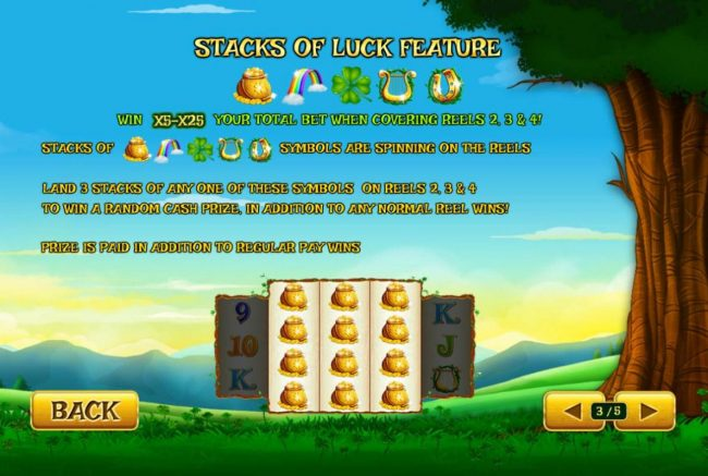 Stacks of Luck Feature Rules
