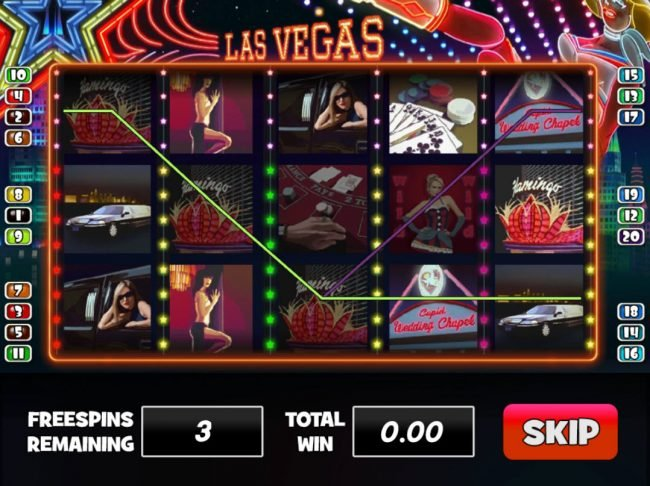 Venetian featuring the Video Slots Las Vegas with a maximum payout of $80,000