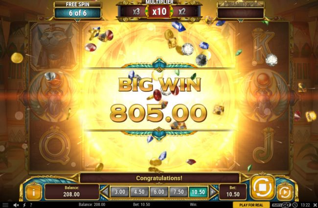 Joker Casino featuring the Video Slots Legacy of Egypt with a maximum payout of $450,000