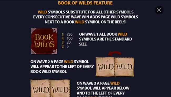 Book of Wilds Feature Rules