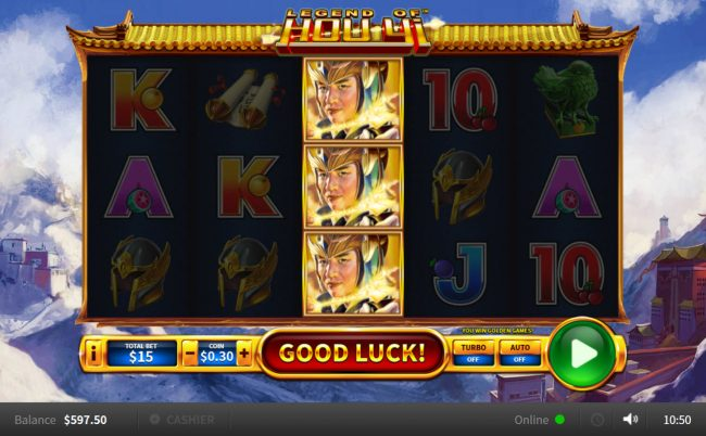 Playing slots online real money