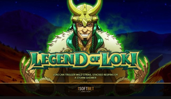 Play slots at Joe Fortune: Joe Fortune featuring the Video Slots Legend of Loki with a maximum payout of $10,000
