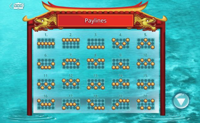 ZigZag777 featuring the Video Slots Legend of Qu Yuan with a maximum payout of $45,000
