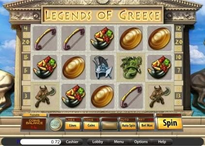 Wizbet featuring the Video Slots Legends of Greece with a maximum payout of $7,500