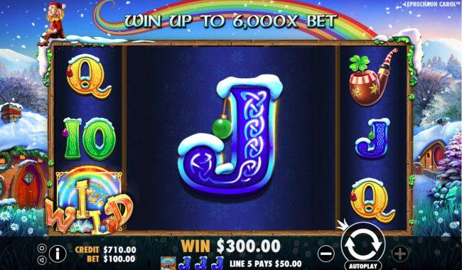Leprechaun Carol :: Giant symbol leads to big win