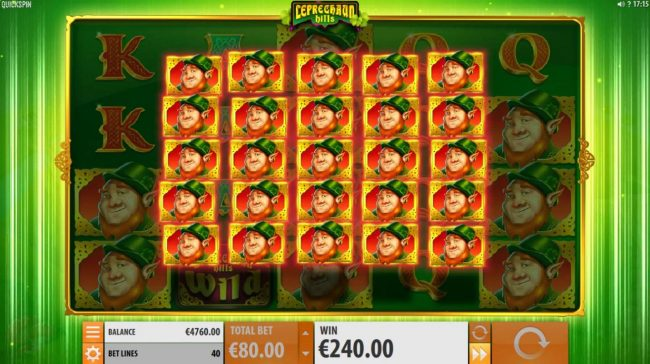 Grand Ivy featuring the Video Slots Leprechaun Hills with a maximum payout of $12,000