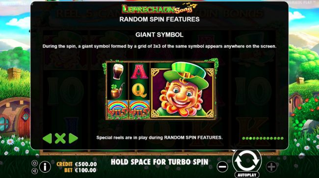 14 Red Casino featuring the Video Slots Leprechaun Song with a maximum payout of $400,000