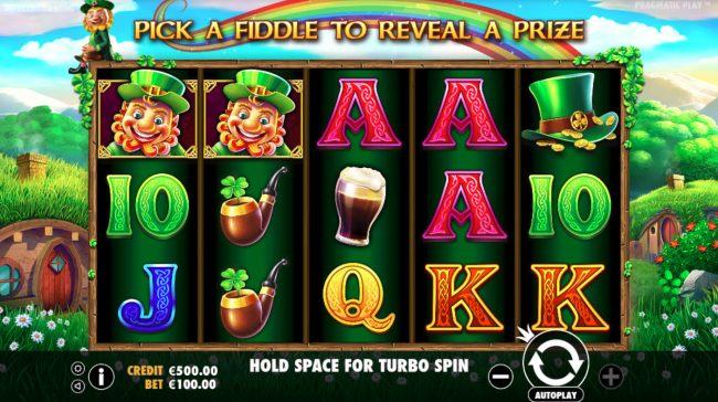 Play slots at Casino States: Casino States featuring the Video Slots Leprechaun Song with a maximum payout of $400,000