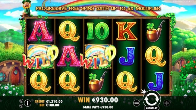 Buran featuring the Video Slots Leprechaun Song with a maximum payout of $400,000