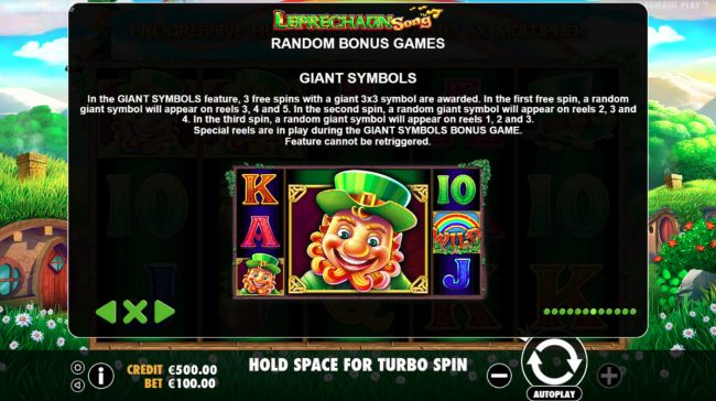 Lucky Dino featuring the Video Slots Leprechaun Song with a maximum payout of $400,000