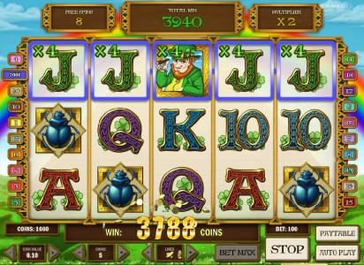 ReelTastic featuring the Video Slots Leprechaun goes Egypt with a maximum payout of $3000