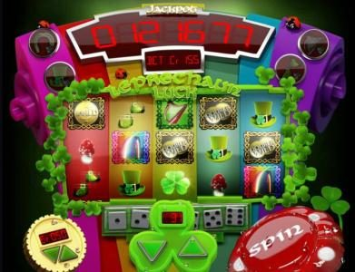 Slotland featuring the Video Slots Leprechaun Luck with a maximum payout of Jackpot