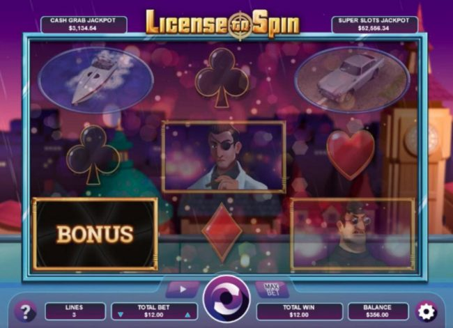 Drake featuring the Video Slots License to Spin with a maximum payout of Jackpot