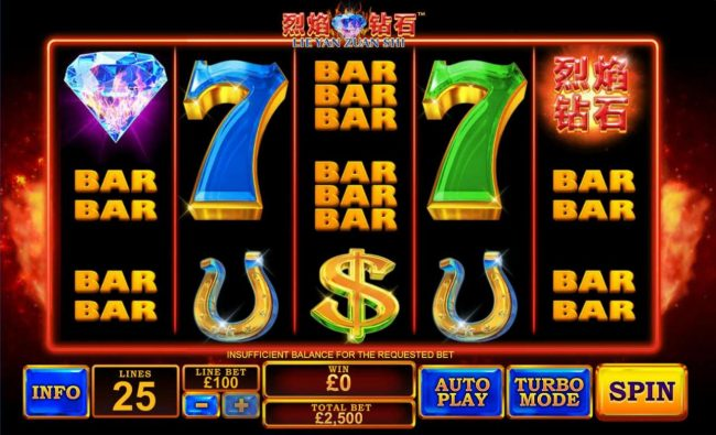 Omni featuring the Video Slots Lie Yan Zuan Shi with a maximum payout of $300,000
