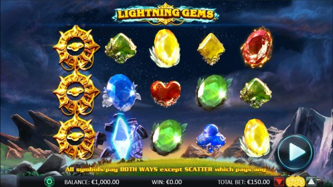 Play slots at Deuce Club: Deuce Club featuring the Video Slots Lightning Gems with a maximum payout of $20,000