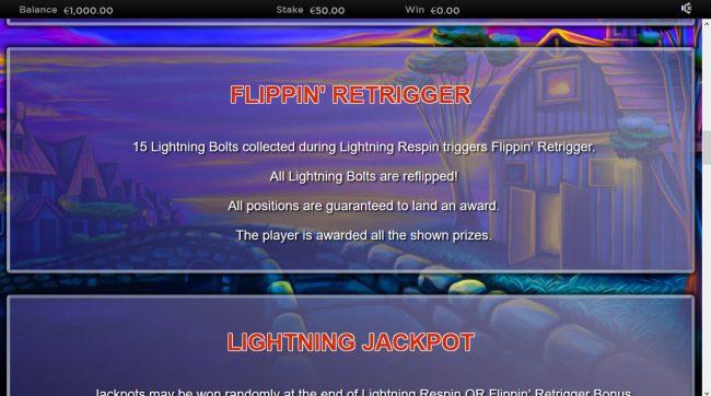 Lightning Horseman :: Flippin Retrigger