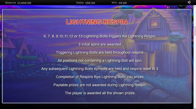 Lightning Horseman :: Lightning Respin