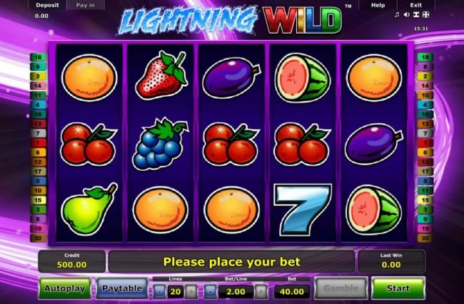Play slots at Hyper Casino: Hyper Casino featuring the Video Slots Lightning Wild with a maximum payout of $4,000